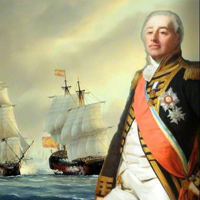 <p>Lord James Saumarez<br></p>