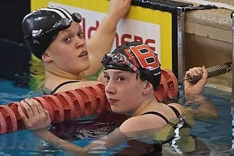 Ellie Simmonds and Ellen Ratcliffe