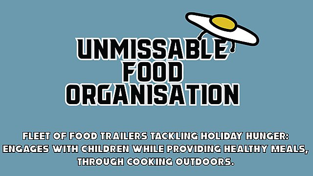 <p>Unmissable Food Organisation logo</p>
