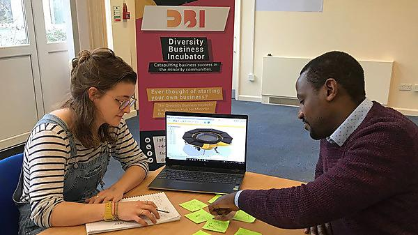 Sarah and Jabo Butera, CEO of Diversity Business Incubator