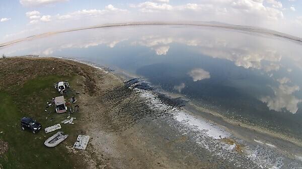Tuzla Lake, Turkey (photo by Dr Çetin Şenkul)