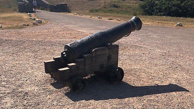 <p>Berry head artillery</p>