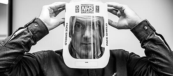 Academic receives special award for work to create recyclable face shields for frontline staff