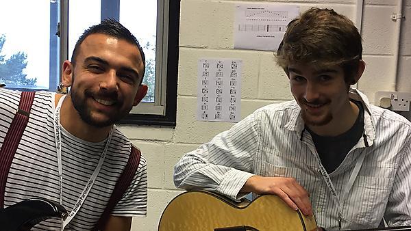 Jacob and Rowan at Torbridge School