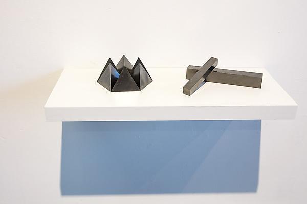 Solid I and Solid IV,Kazuya Tsuji,   Plymouth Contemporary Award winner, 2017