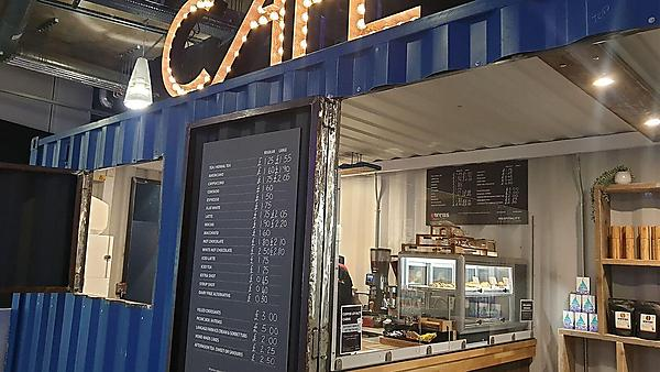 <p>The Container cafe<br></p>