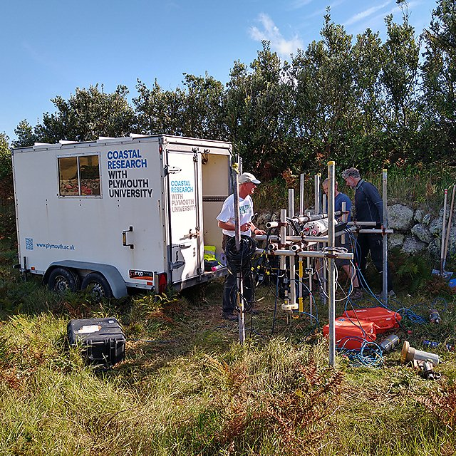 <p>Coastal processes research group seagrass research<br></p>