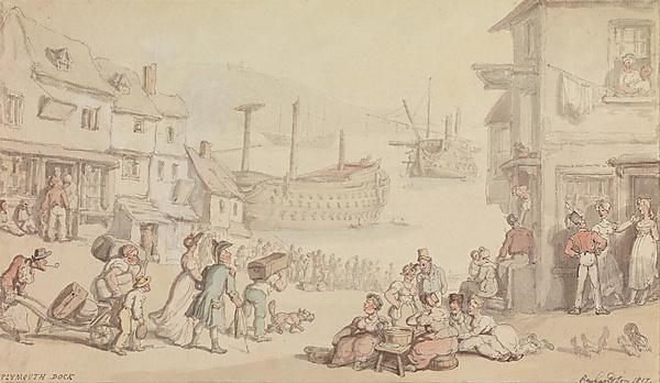 <p>Thomas Rowlandson, Public domain, via Wikimedia Commons<br></p>