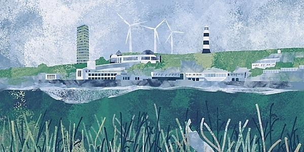 <p>Future Plymouth Illustration - Joe Meldrum, Plymouth Design</p>