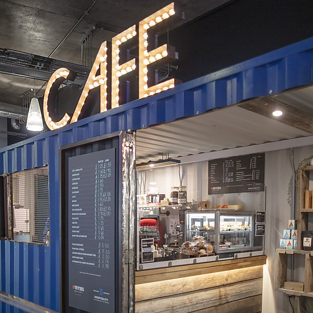 <p>Container Cafe</p>