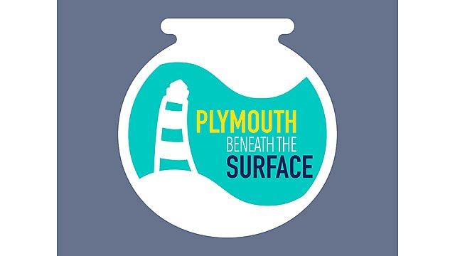 <p>Plymouth Beneath the Surface Logo</p>