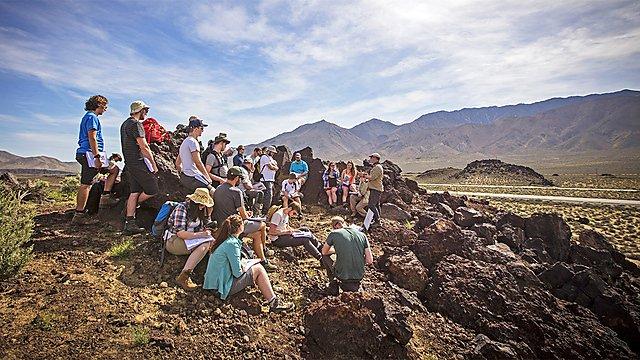 <p>Death Valley, Geology fieldwork</p>