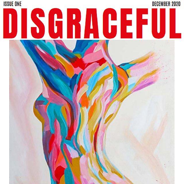 <p>Disruptive Magazine December cover<br></p>