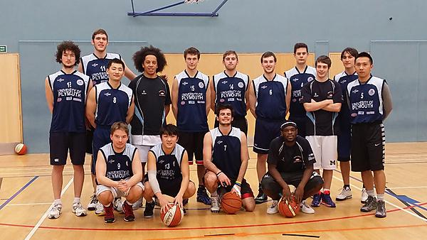 University of Plymouth basketball team