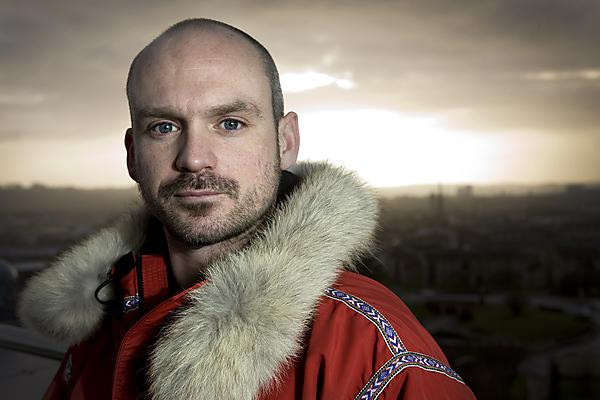 Polar adventurer, Antony Jinman