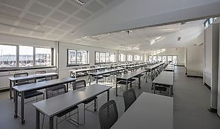 Marine Station's largest classroom holds more than 90 people
