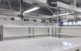 The wet lab can accommodate nearly 50 students