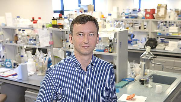 Dr Oleg Anichtchik, who will lead the study