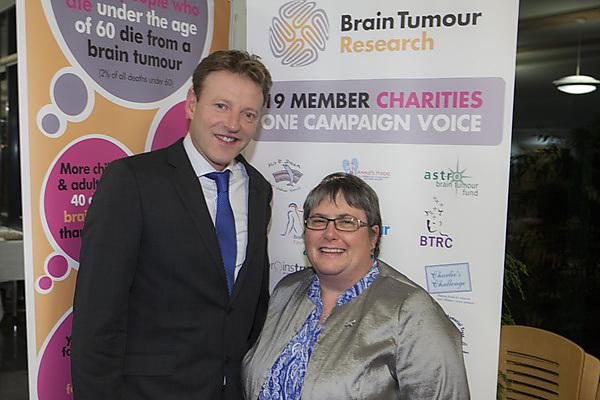 Former nurse visits our new Plymouth University Brain Tumour Research Centre of Excellence