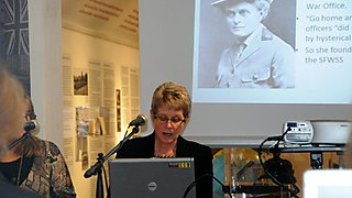 Speaks at Heritage Lottery funded public lecture, Northampton museum and art gallery.