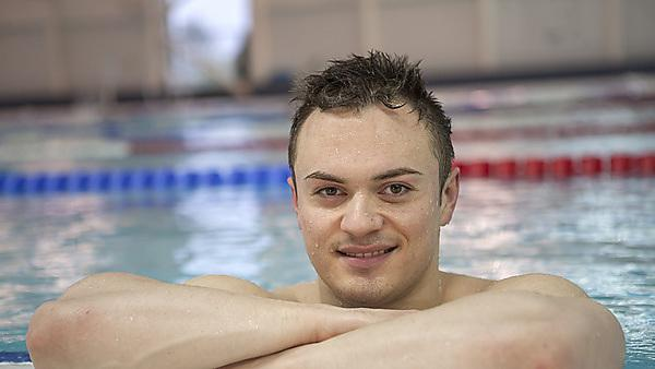 Antony James: Team GB Olympic swimmer