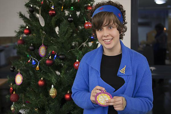 Teenager backs Brain Tumour Research Christmas appeal