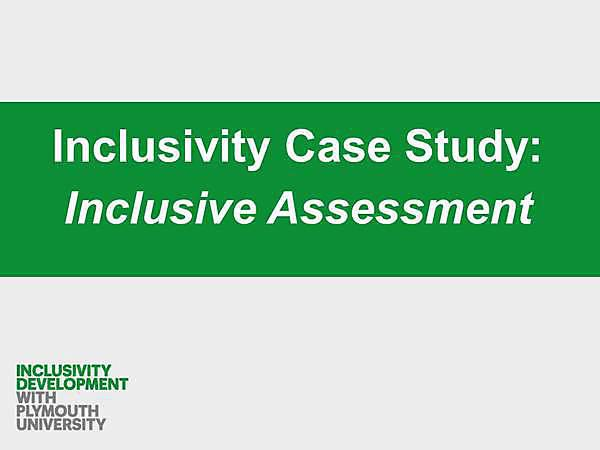 Inclusivity Case Study Video Thumbnail Assessment