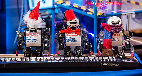 Robots tune up for unique BBC performance