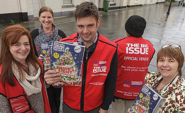 Early Christmas present for Big Issue thanks to dental sponsorship
