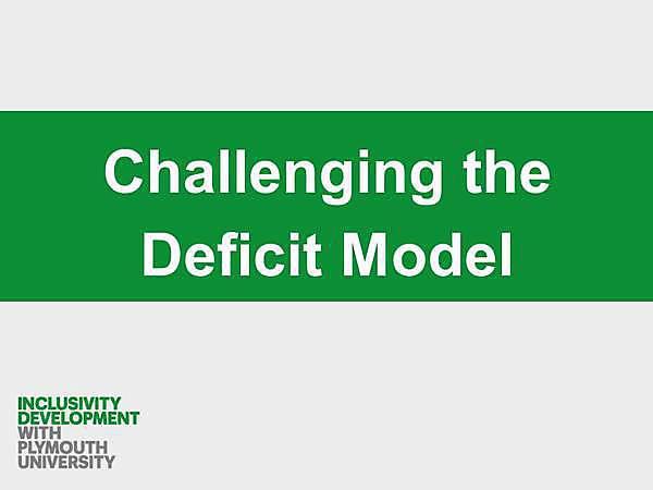 Inclusivity Case Study Video Thumbnail Deficit
