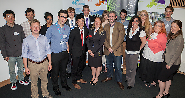 Tectona Business Challenge participants June 2014