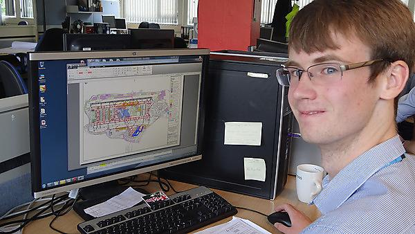 Paul Newland, work placement case study