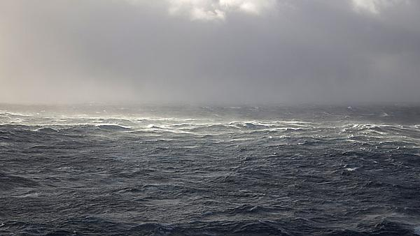 <p>Stormy north sea water view to horizon, credit: mikeuk, courtesy of Getty Images</p>
