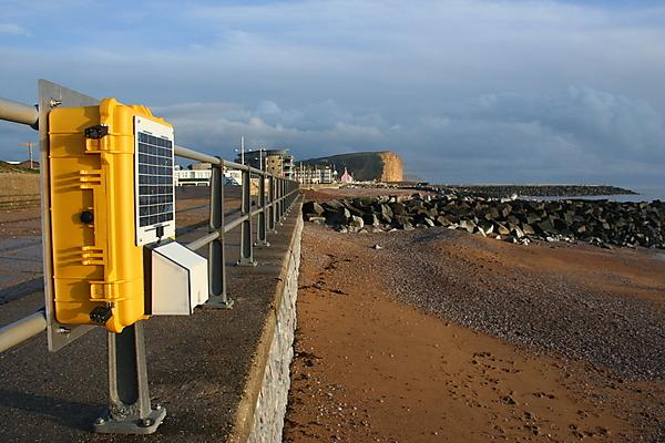 B-SCAN autonomous bed level sensor being piloted at West Bay, Dorset