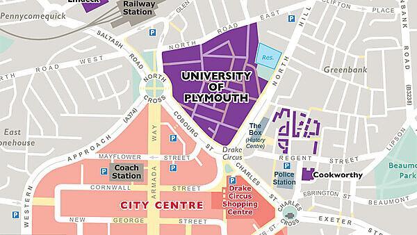 Distances around campus