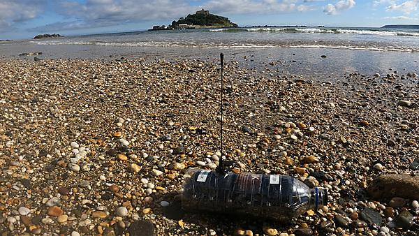 <p>Plastic bottle tracking device<br></p>
