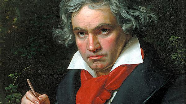 A portrait of Beethoven by Joseph Karl Stieler