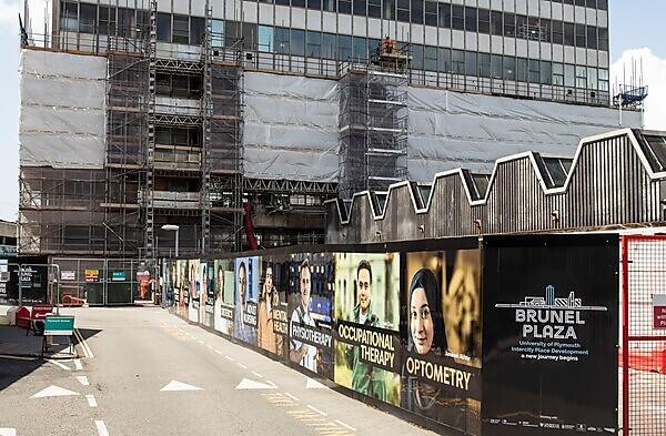 Work underway at the Intercity Place development