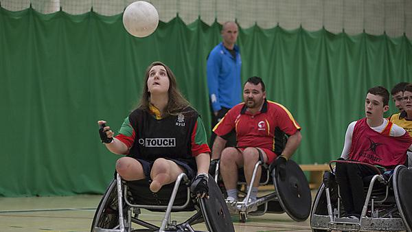 Faye West, wheelchair rugby
