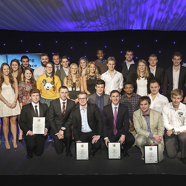 Sporting Excellence Showcase 2015 group shot