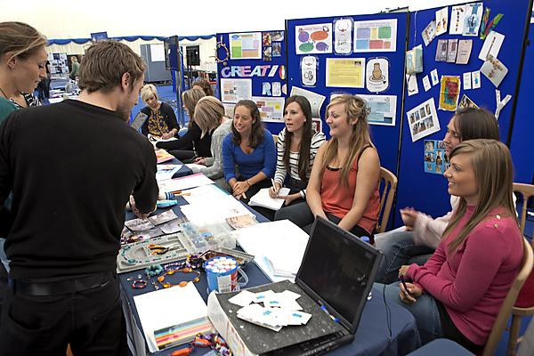 Occupational Therapy volunteering exhibition