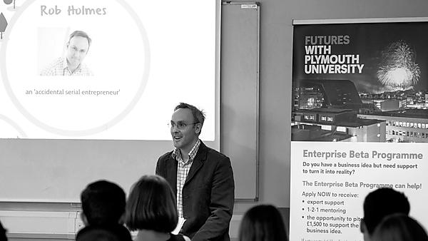 Business enterprise and entrepreneurship with Rob Holmes