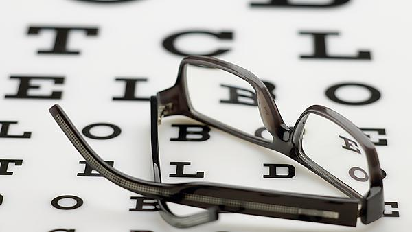 Visual impairment assessments - courtesy of Shutterstock