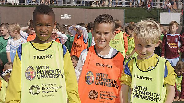 Junior football kit competition to support Brain Tumour Research