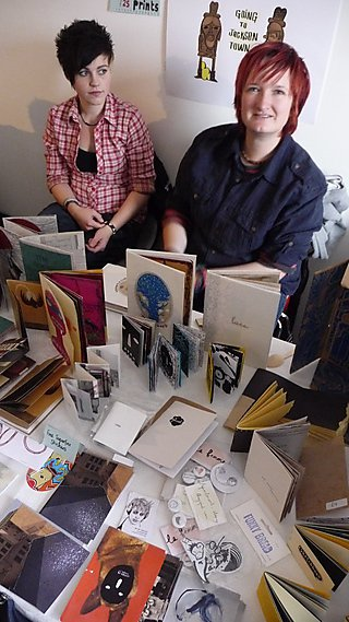 B.A.B.E. comic and book stall