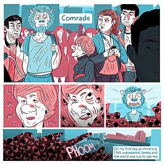 Wolf Crowe comic illustration