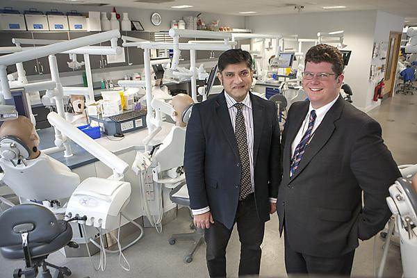 European award for Plymouth dental academic