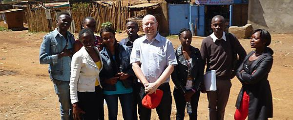 Making a difference to communities in Kenya