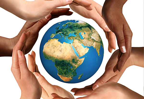 Global philanthropy - image courtesy of Shutterstock