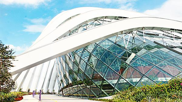 Singapore: building in the park Gardens by the Bay. Courtesy of Shutterstock